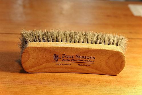 Genuine Horse Hair Brush by 4 Seasons