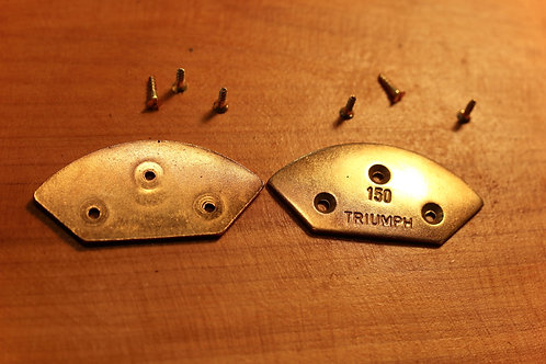 Metal Toe Plates by Triumph