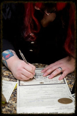 officiant,wedding ceremony,marriage ceremony,non religious wedding,non religious ceremony,wedding officiant,harrisburg pennsylvania,PA,tattooed minister,tattooed reverend,reverend shauna,traveling officiant,Celebrant,Renee Heller,gay wedding,same sex