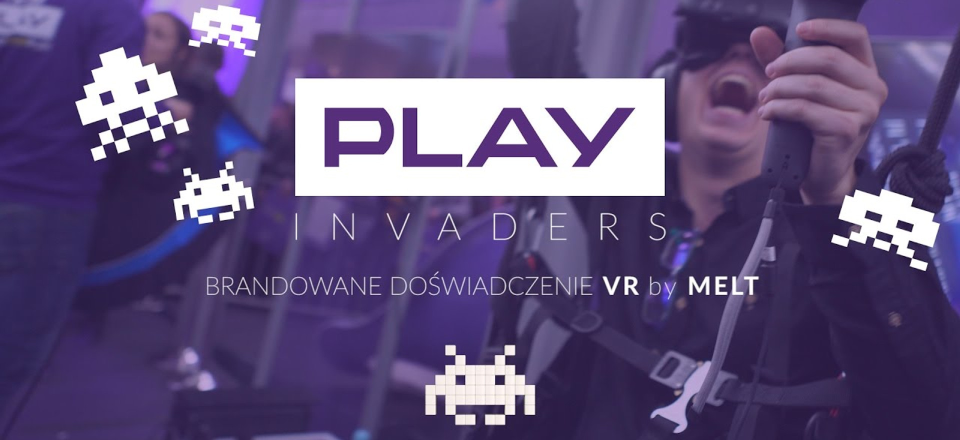 Play INVADERS VR Experience