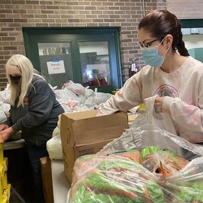 Barb Food Mart Volunteers Respond to Changing Needs
