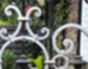 Zaun Ornamente