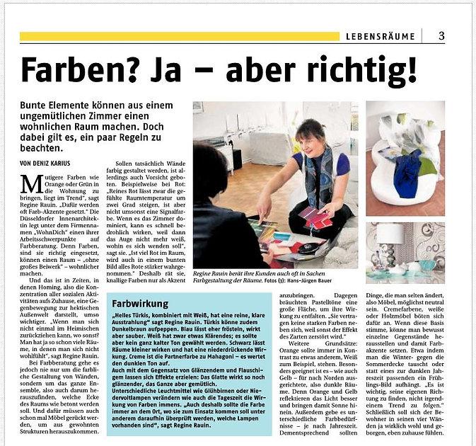 Farben Rheinische Post