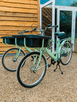 We have two beautiful bikes for guests