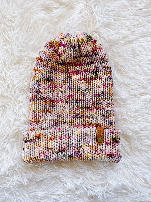 Double Layer Knit Beanie