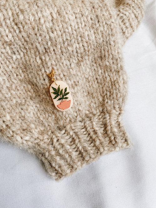 Plant Lovers Stitch Marker- Dracaena