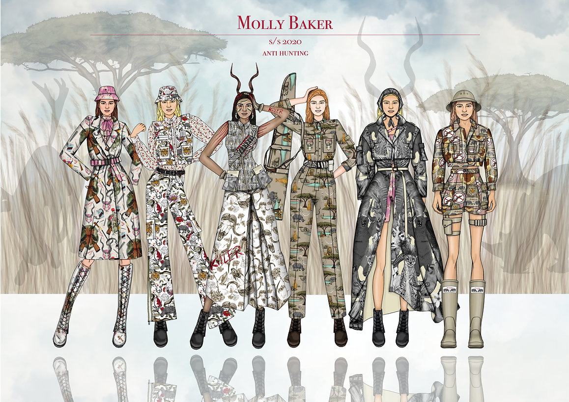 Molly Baker S/S 2020 line up