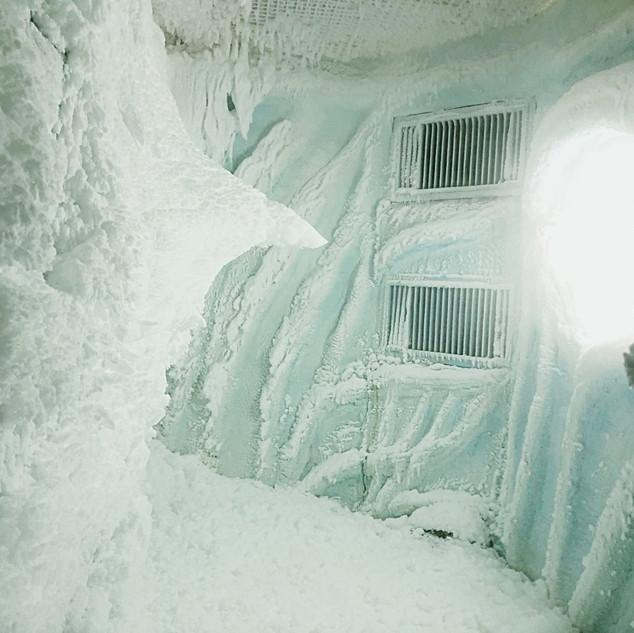Снежная комната в Кудепсте