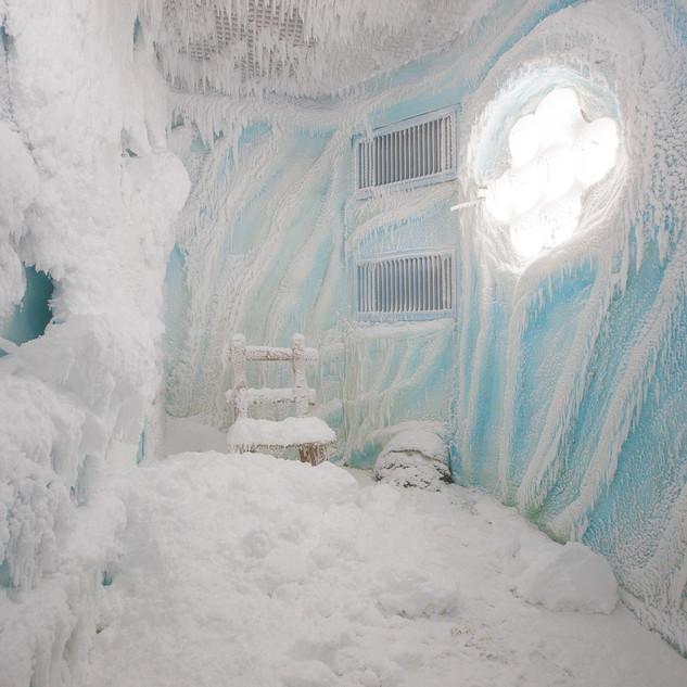 Снежная команата в Сочи