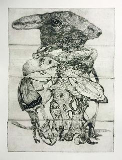"""""""Bestiarium"""" - Radirungen von Oliver Regener"""