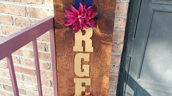 """4'x12"""" Wooden Signs-Porch Signs-Boards"""