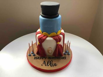 Greatest Showman Themed Cake