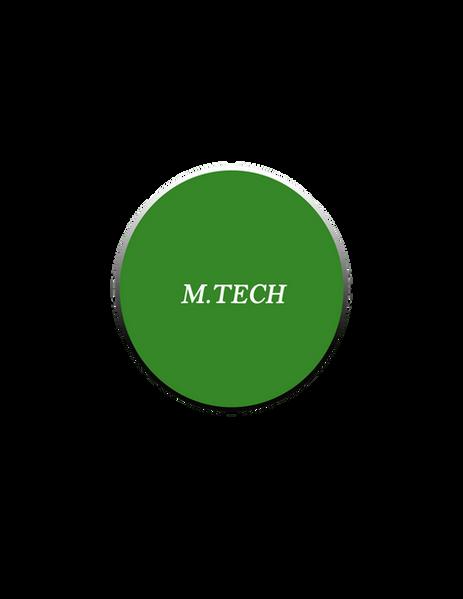 M.TECH TRAINING PROGRAM