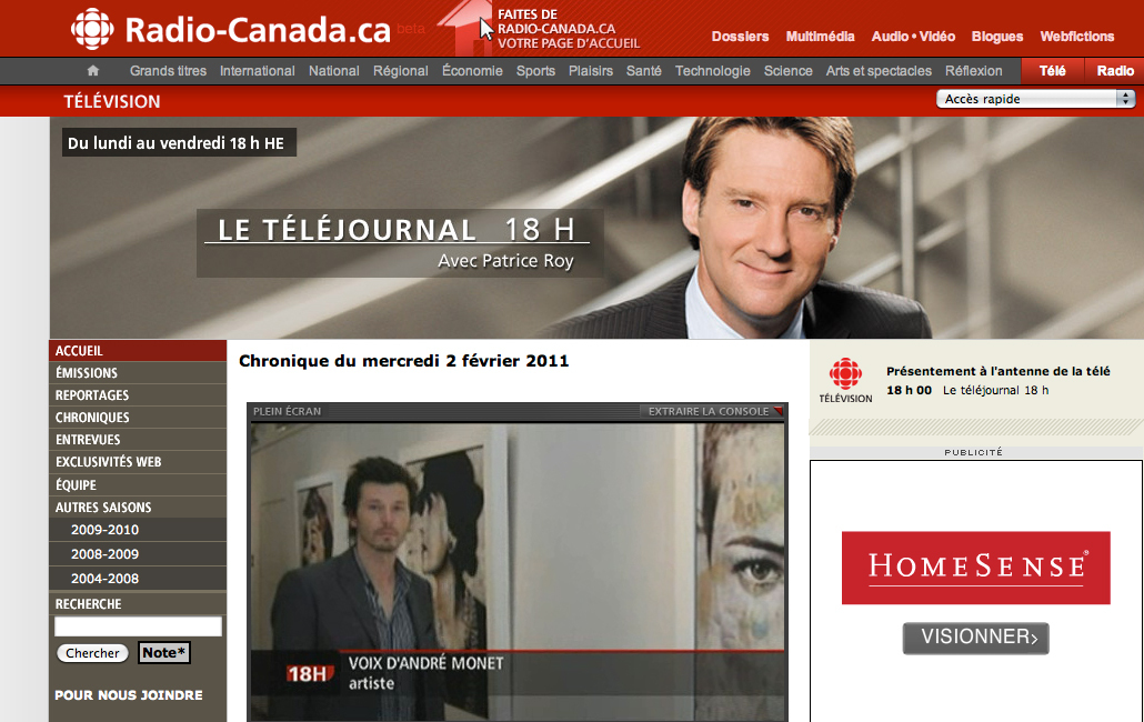 radio-canada telejournal