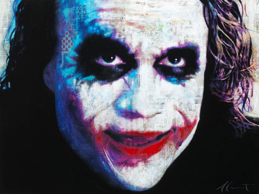 the joker 36x48