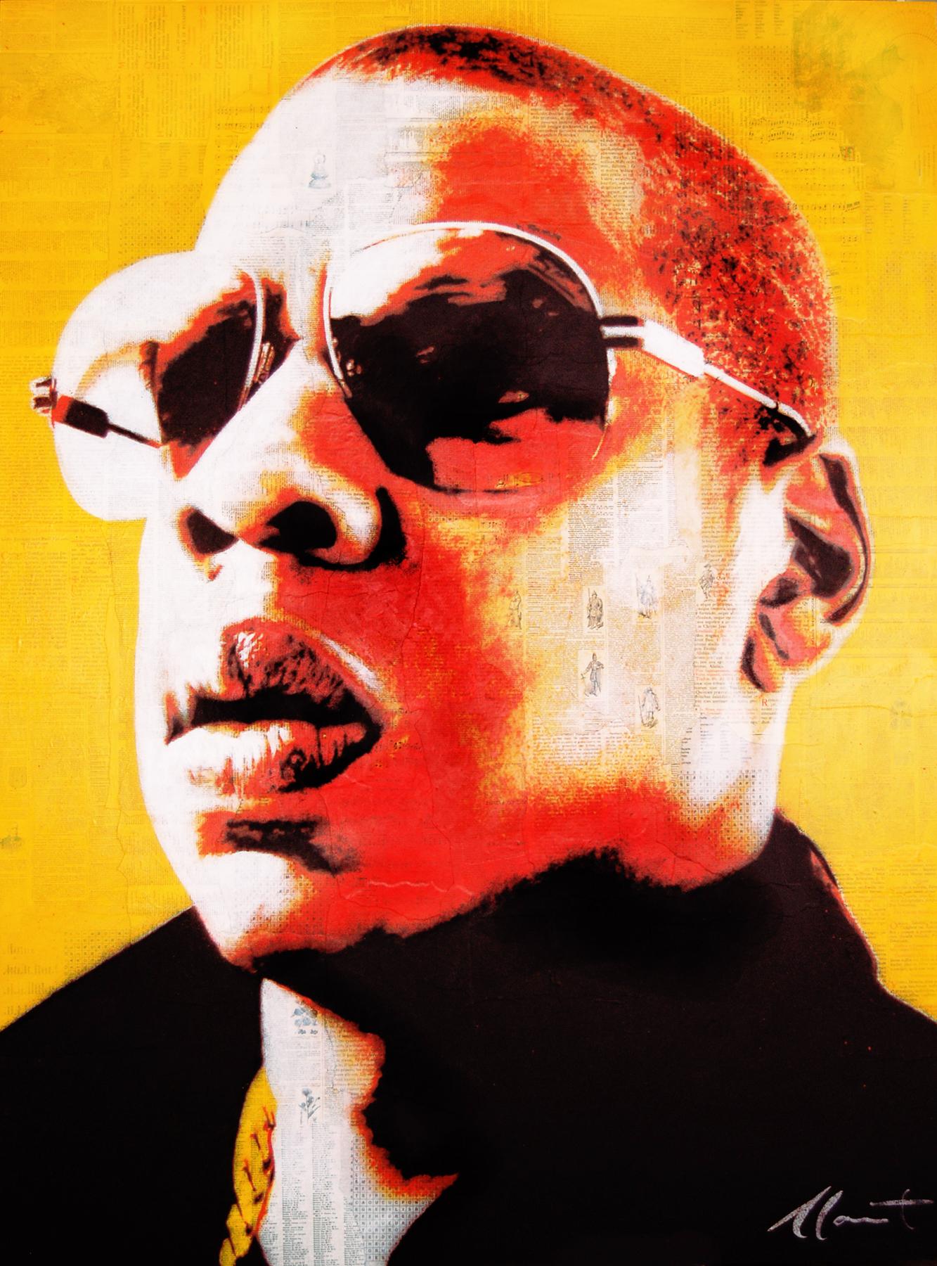 """Jay-Z 45x60"""""""