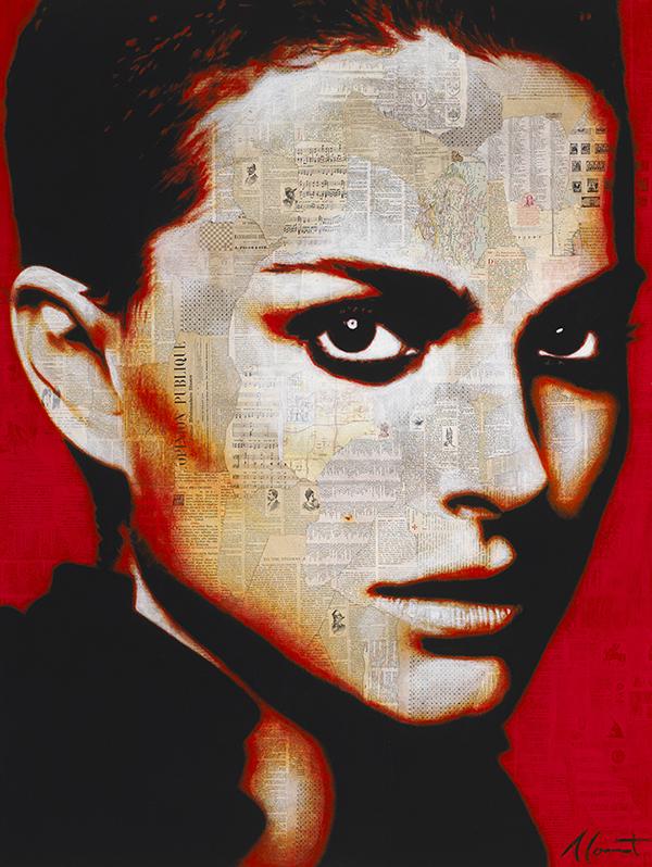 """Natalie Portman 45x60"""""""