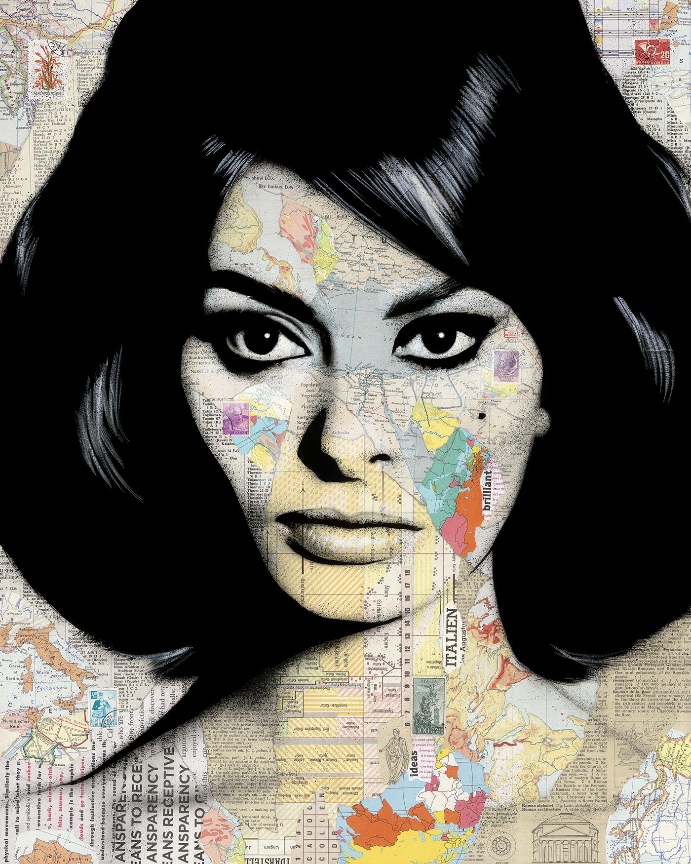 """Sophia Loren 36x48"""""""