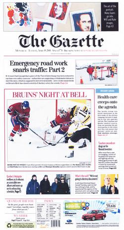the gazette april 2011