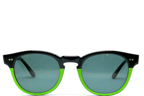 green sunglasses, occhiali da sole verdi