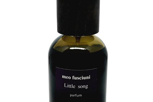 meo fusciuni, little song, parfum, venezia