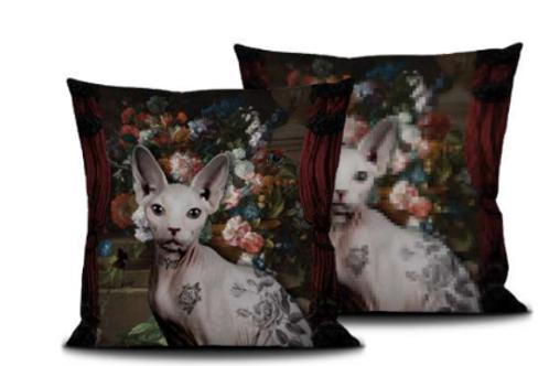 sphinx, interior design, La ligne 29 , home decoration, arredamento, pillow, coussin, cuscino