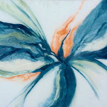 """Aster Bloom - 48"""" x 36"""" - Available"""