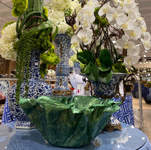 Green Custom Vase