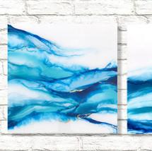 "Ebb Tide  16"" x 16"" Panels - Sold"