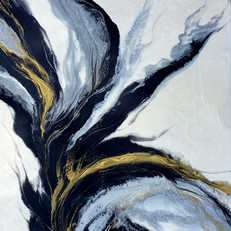 """Fusion 48""""x60"""" - Sold"""