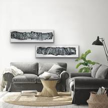 Horizontal Black Impressions