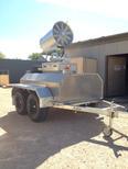 Fog cannon trailer