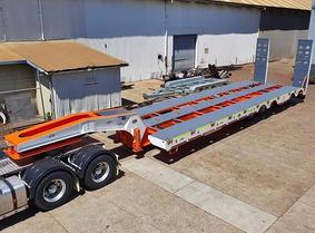 Quad Axle Low Loader - 3.5m Widene