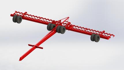 100ft Air Seeder Bar.JPG