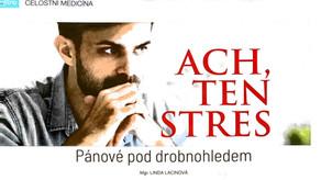 Ach ten stres aneb hormonální jóga PRO MUŽE!