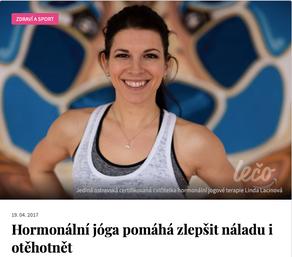 Hormonální jóga pomáhá zlepšit náladu i otěhotnět