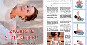 Hormonální jóga a diabetes! Článek pro Sféru