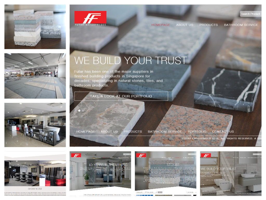 Futar Enterprise Showroom (Website)