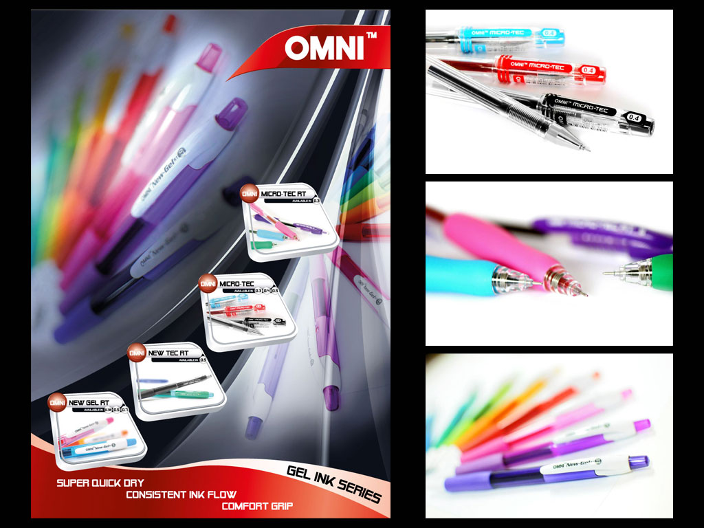 OMNI Product Shoot (Brochure)