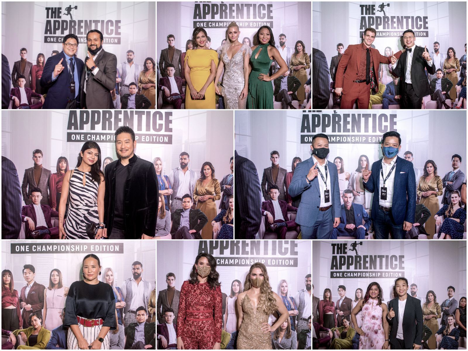 Apprentice ONE Championship Red Carpet