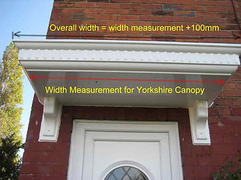 Yorkshire Canopy Essential Measurement