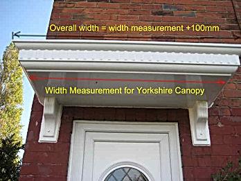 Yorkshire Canopy Essential Measurement