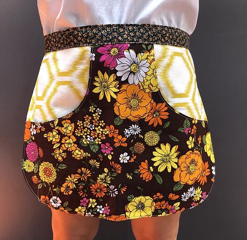 Peg Apron - Vintage Flowers