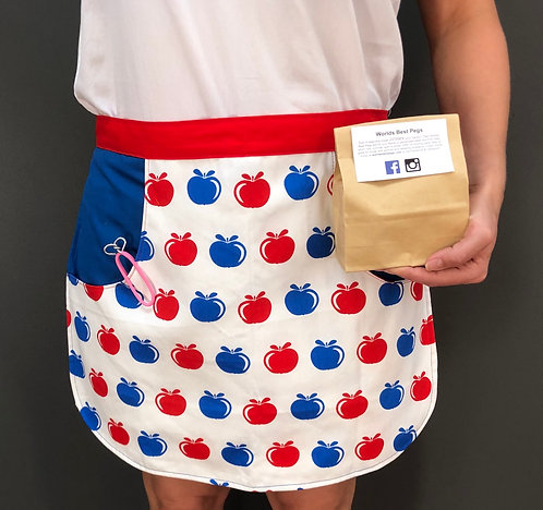Worlds Best Peg & Apron gift pack
