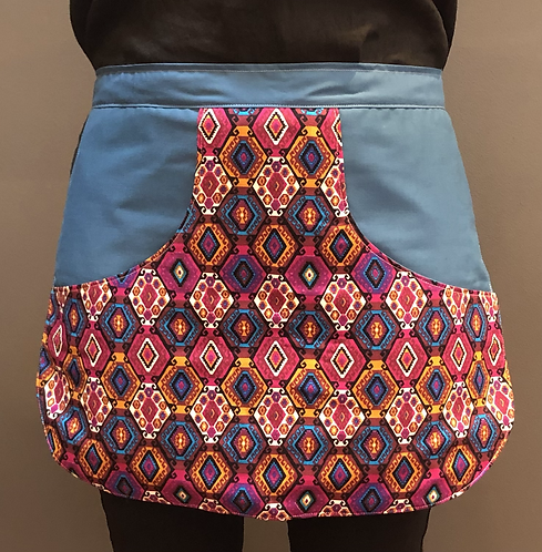 Peg Apron - Geometric love