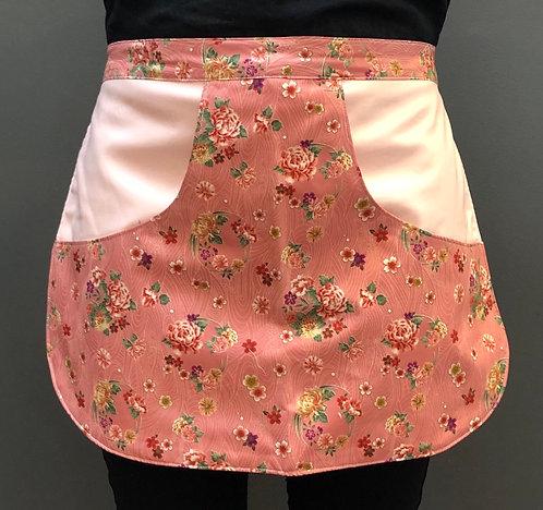 Peg Apron - Dusty Pink Floral