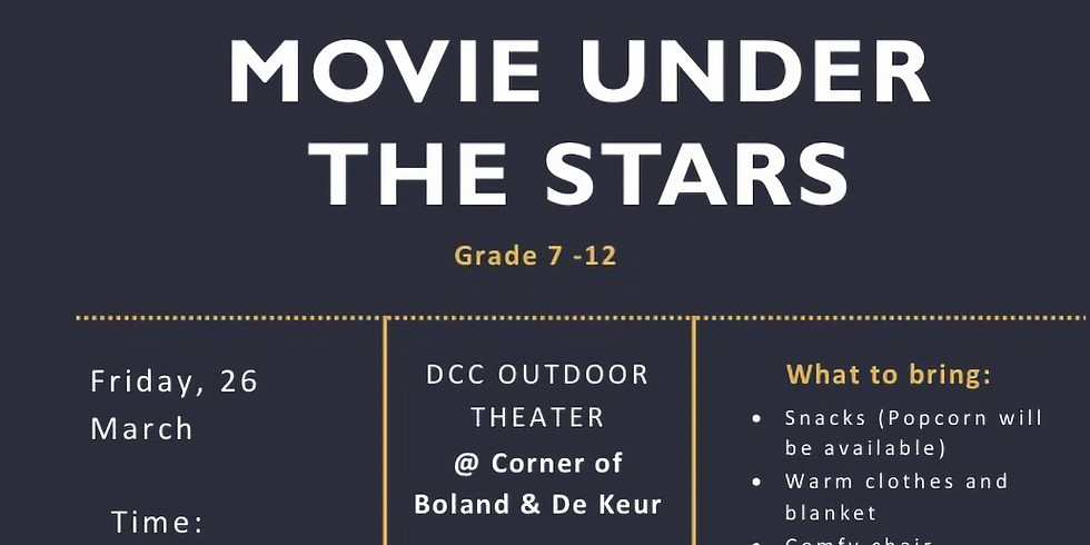 MOVIE UNDER THE STARS (1)