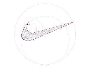 Logotipo Fibonacci Nike