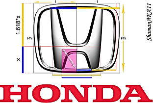 Logotipo Fibonacci Honda