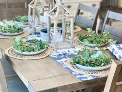 How to: Freshen Up Your Table Scape from Summer to Fall
